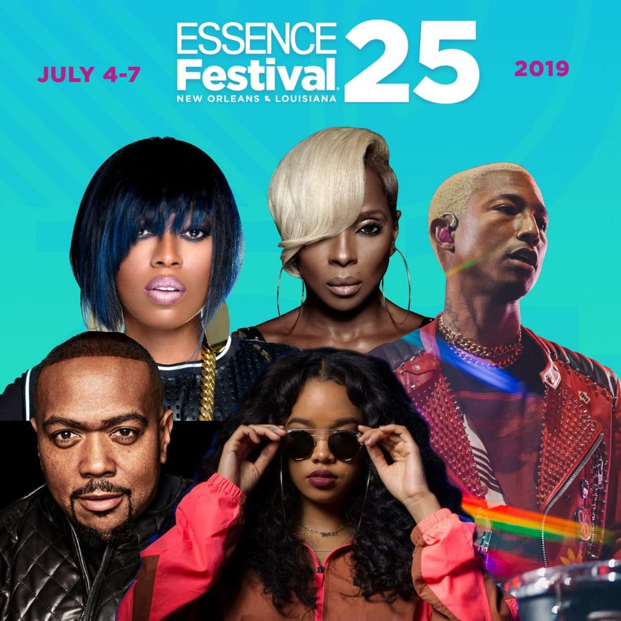 Essence Fest 2019: See The Full Concert Lineup