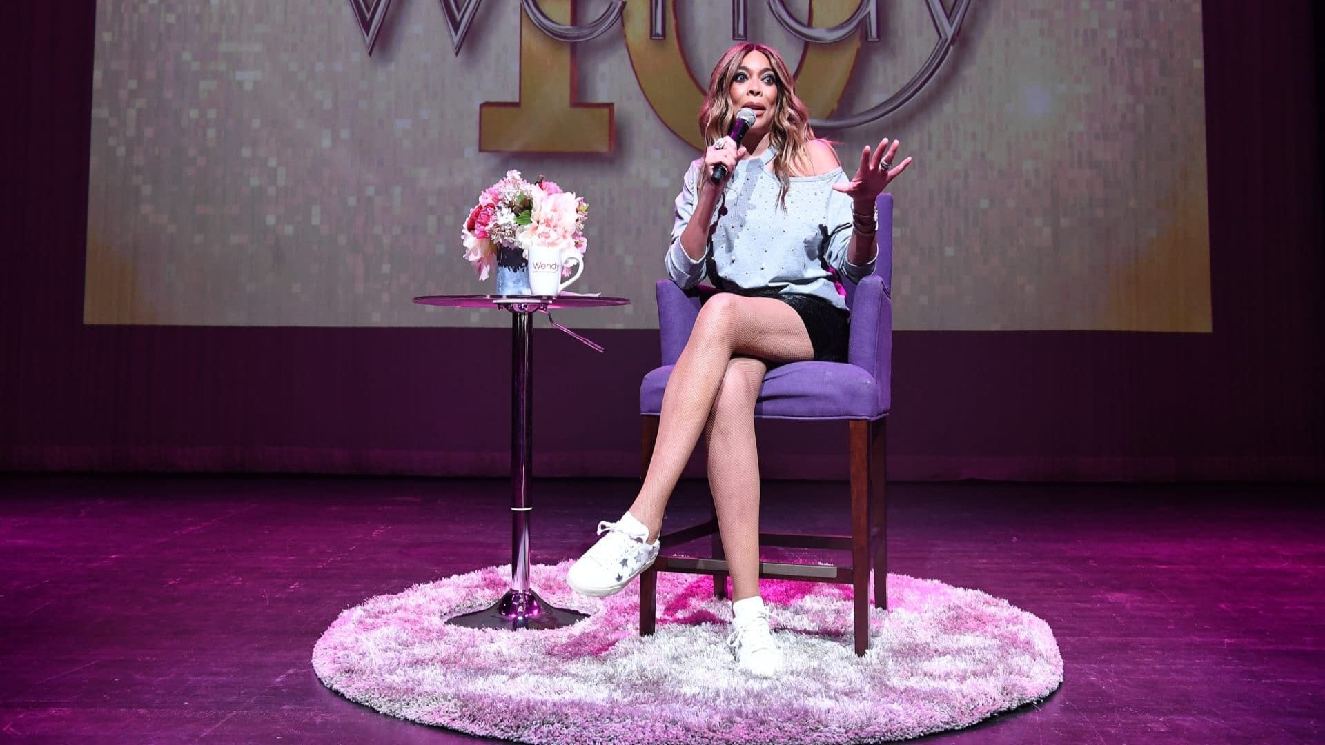 Wendy Williams Makes Tearful Return To Her Daytime Talk Show