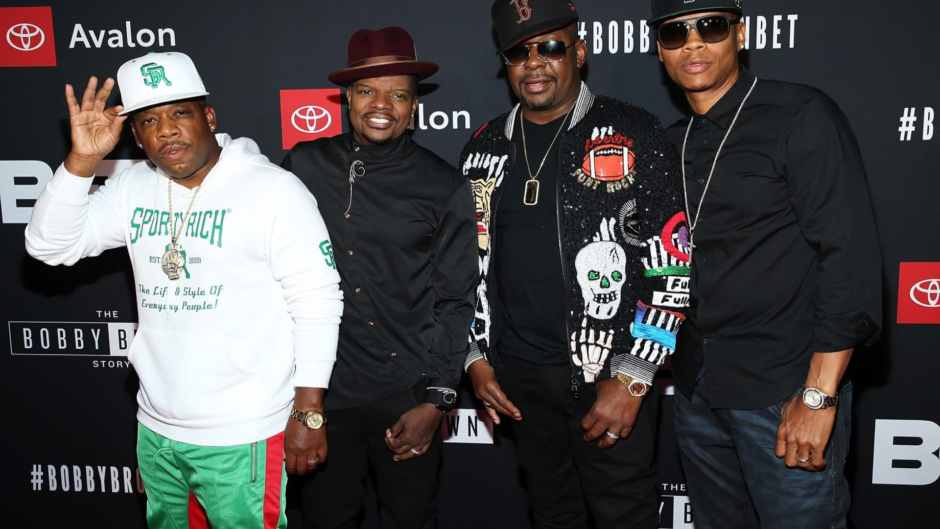 The New Edition Fellas and Their Wives Helped Bobby Brown Bring In His 50th Birthday In Style
