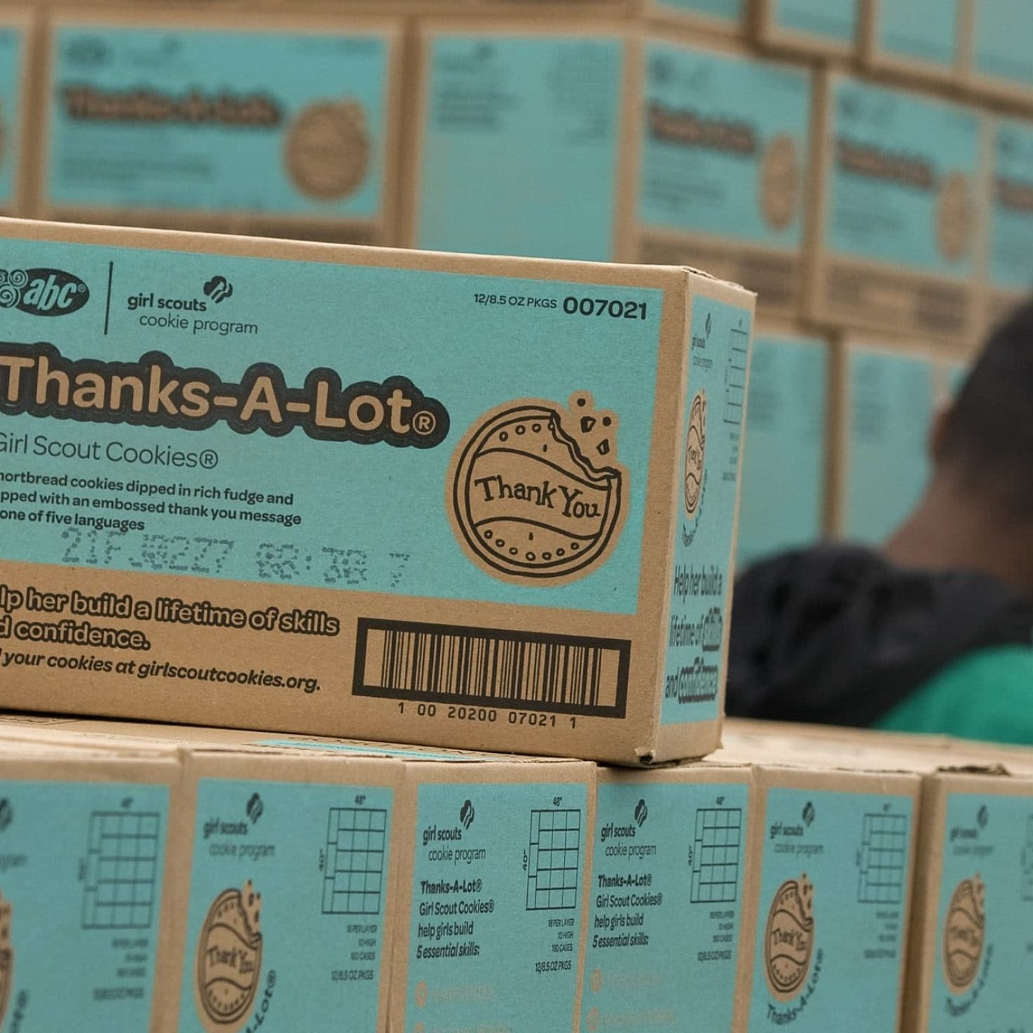 Man Buys All Of Girl Scout Troop's Cookies So Girls Wouldn't Have To Remain Out In Near-Freezing Temperatures