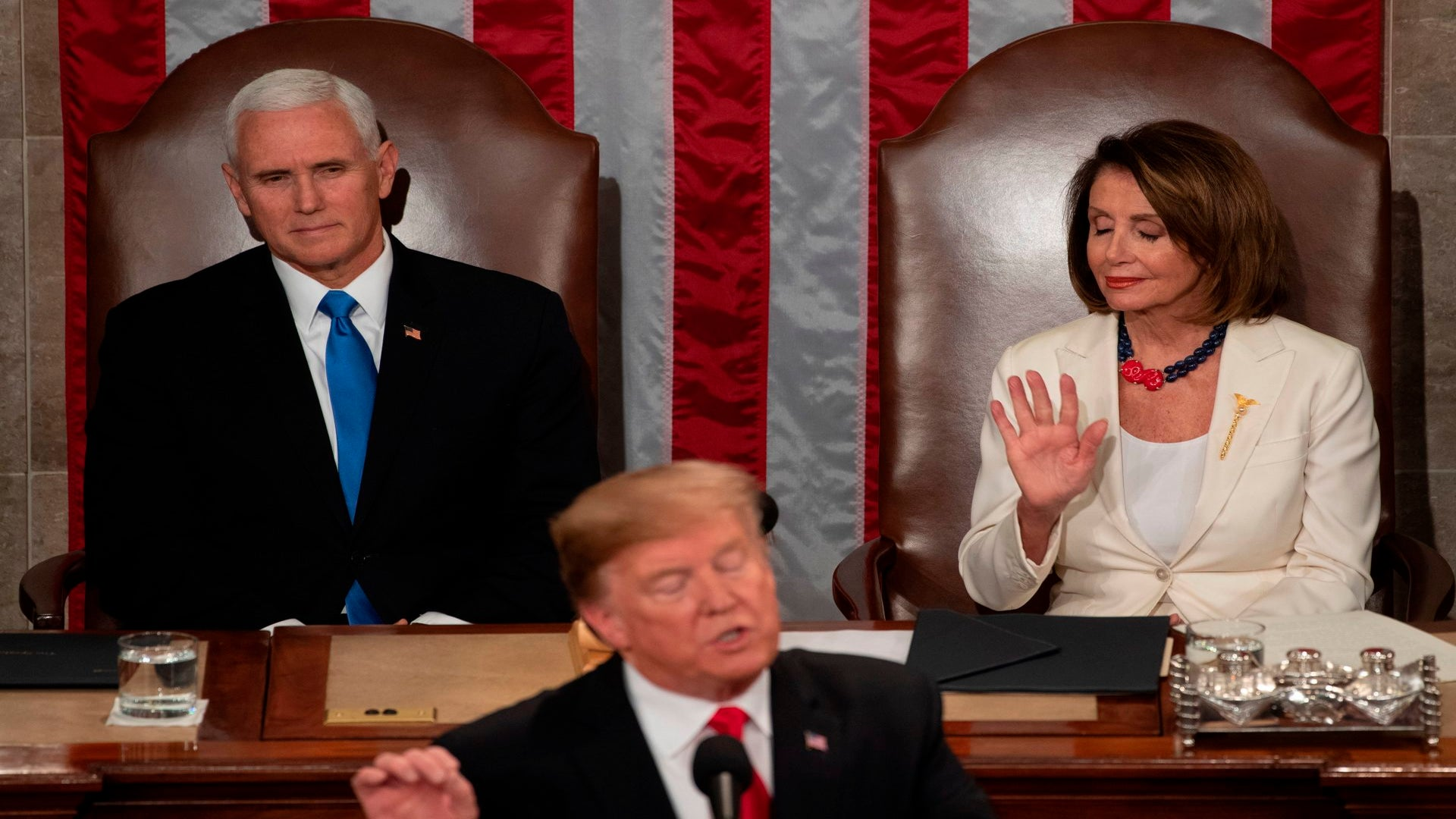 Trump Talks Bipartisanship, Criminal Justice And, Of Course, The Border Wall During State Of The Union