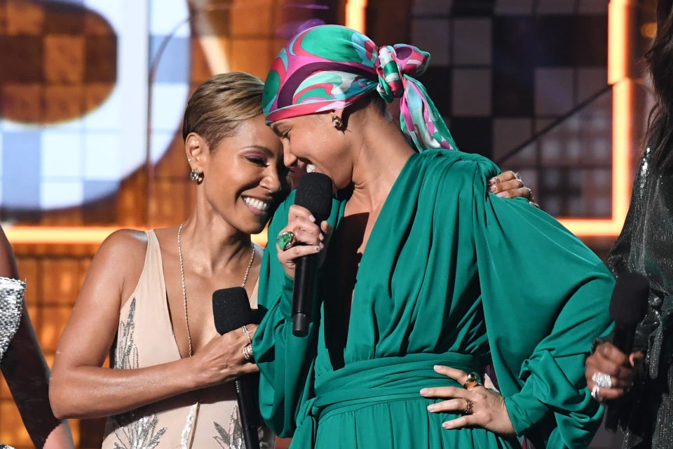 This Beautiful Photo Of Jada Pinkett-Smith Hugging Alicia Keys Will Make You Call Your Girls Right Now