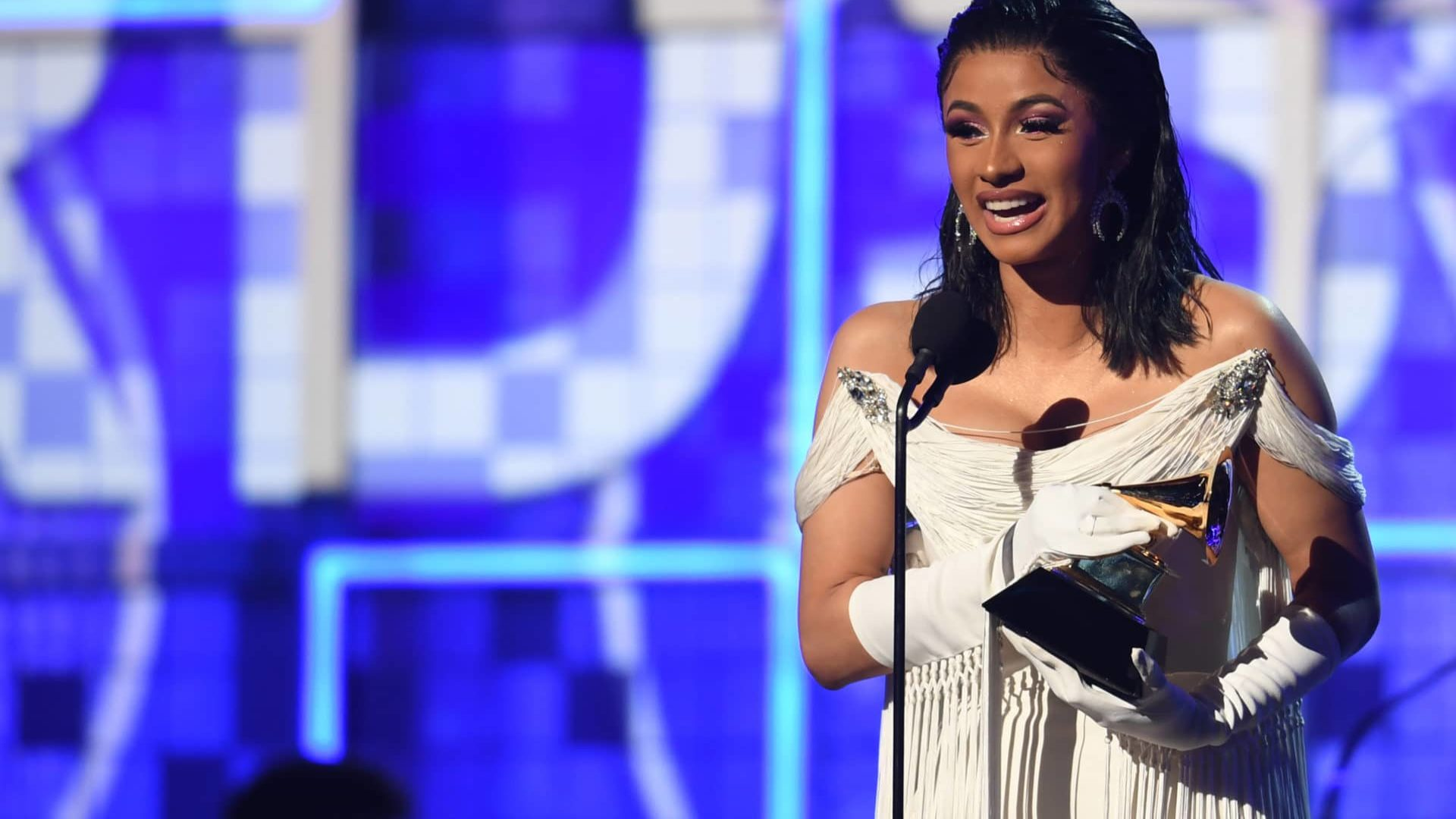 Cardi B Becomes First Female Solo Artist To Win Best Rap Album At The Grammys