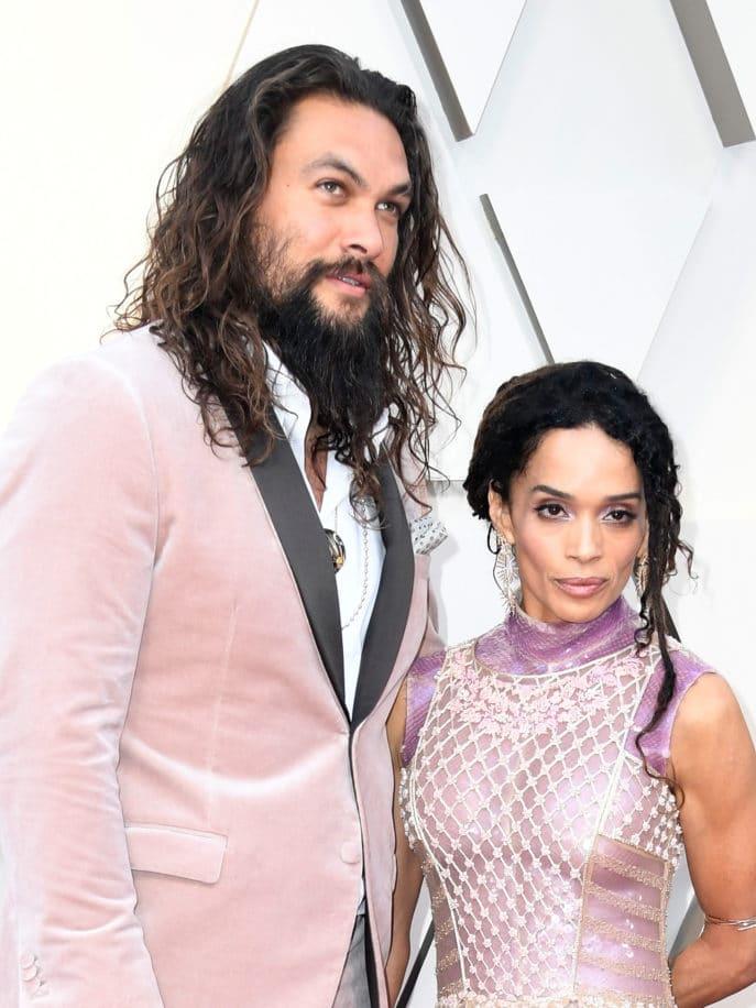 Lisa Bonet And Hubby Jason Momoa Honor Karl Lagerfeld On The Oscars Red Carpet