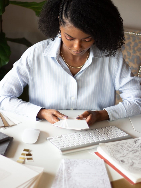 Meet This Black Stationery Designer Who's Saving Brides On Their Wedding Day