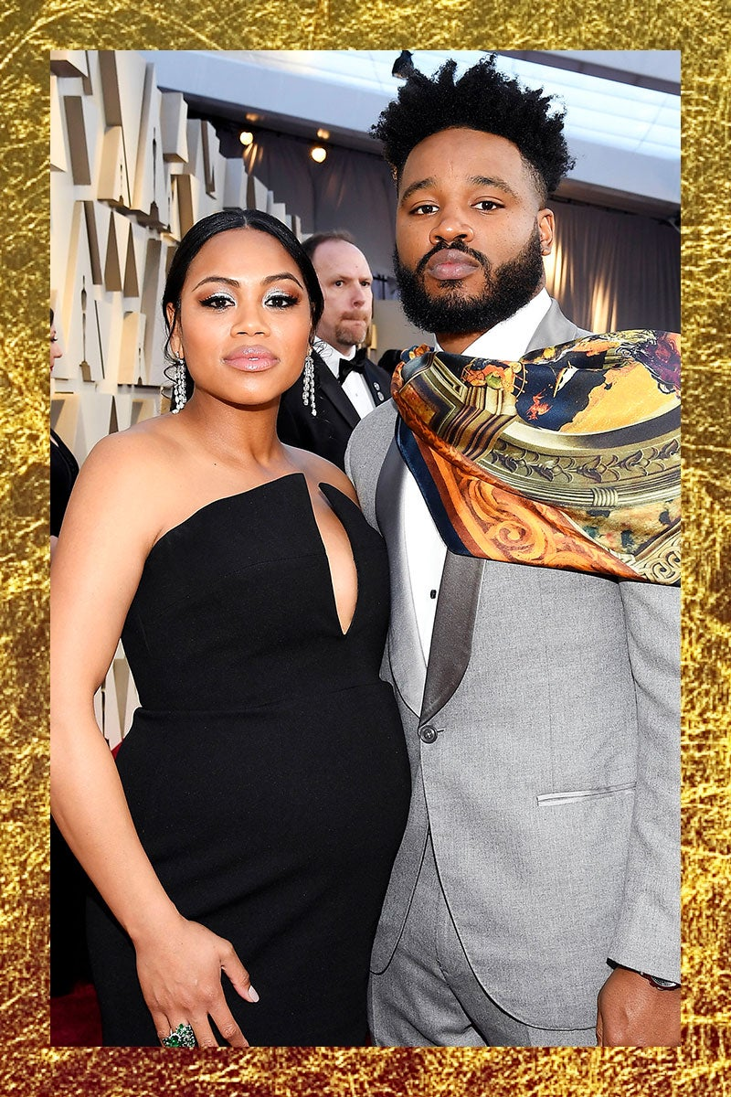 Ryan Coogler and His Wife Zinzi Evans Are Expecting Their First Child and Glowing At The Oscars