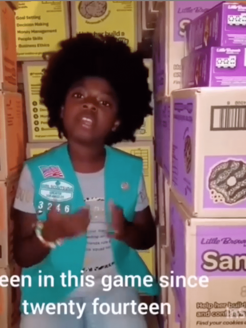 Girl Scout Remixes Cardi B's 'Money' To Boost Cookie Sales — It Worked!