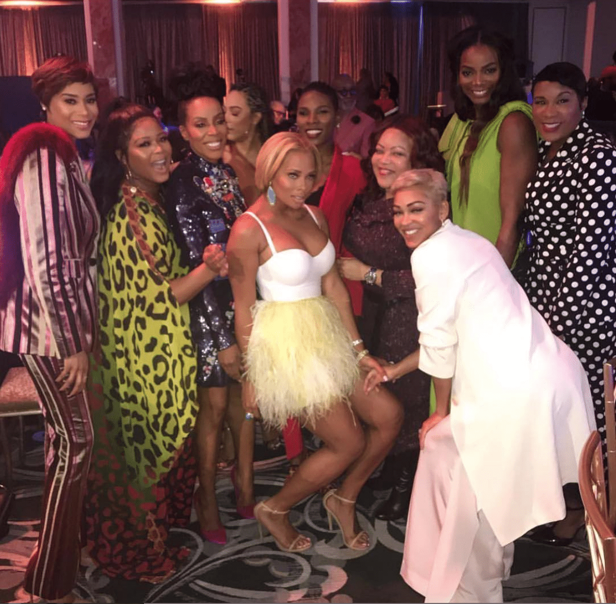 Sisterhood and Love Reigned Supreme At ESSENCE's Black Women In Hollywood Awards