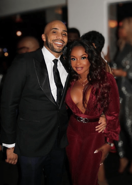 Phaedra Parks and Her New Bae, Tone Kapone, Are Heating Up and We're 100% Here For It