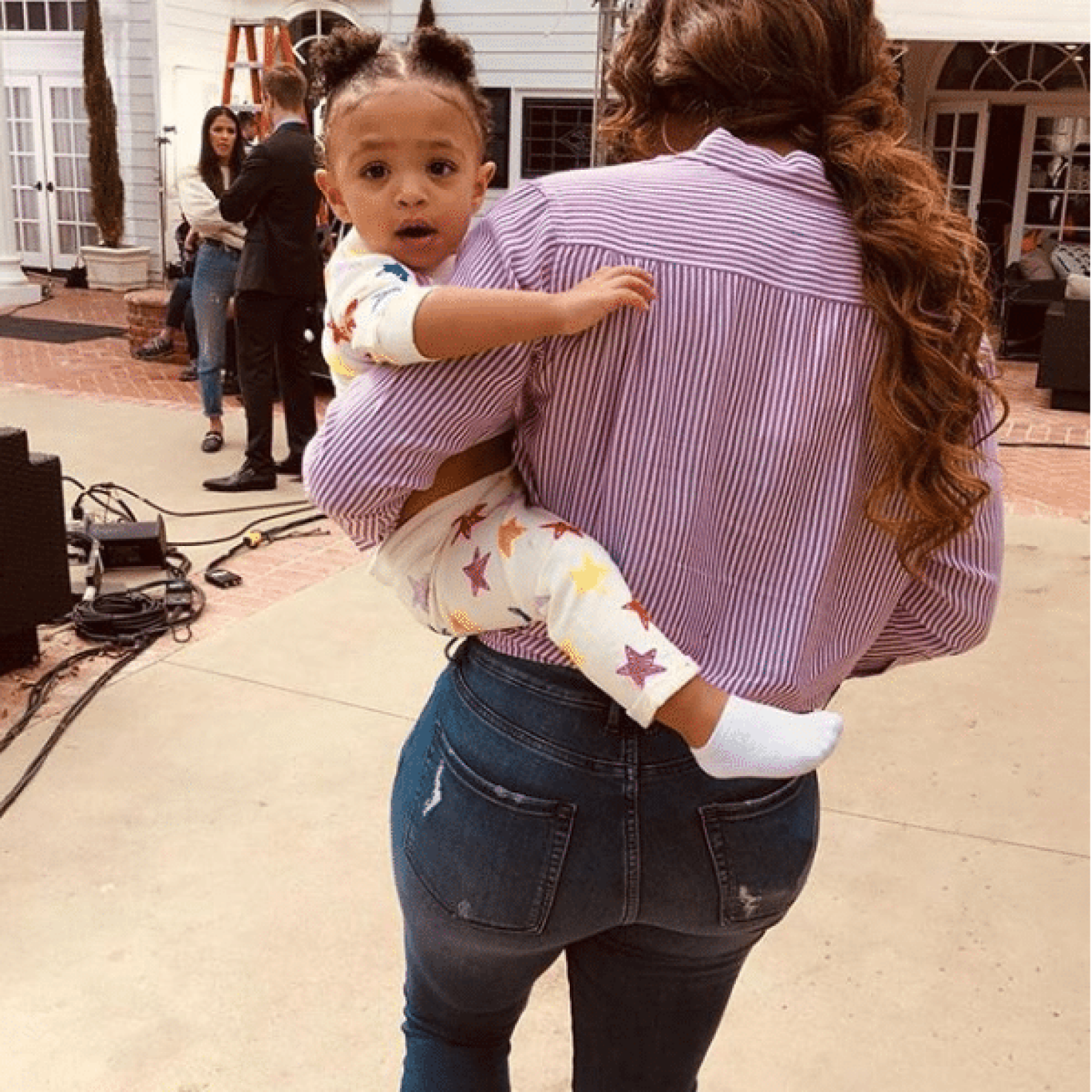 Boss Baby! Serena Williams' Little Girl Olympia Is Growing Up So Fast
