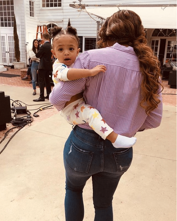 Serena Williams's Baby Girl, Olympia, Is Already Into Tennis, Just Like Her Mom