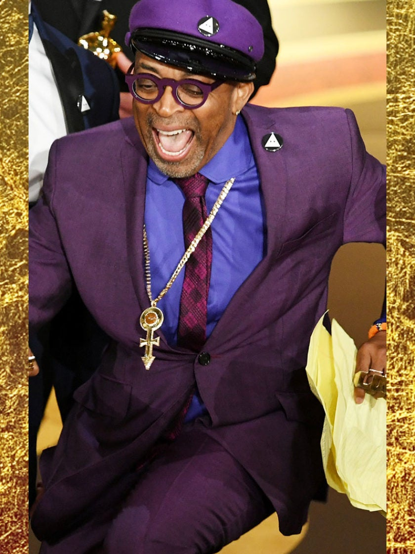 It's About Time!Spike Lee Gets a Standing Ovation As He Accepts His First Oscar Award