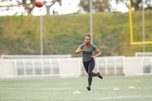 History In The Making: Antoinette 'Toni' Harris Wants To Be The First Female Player In The NFL