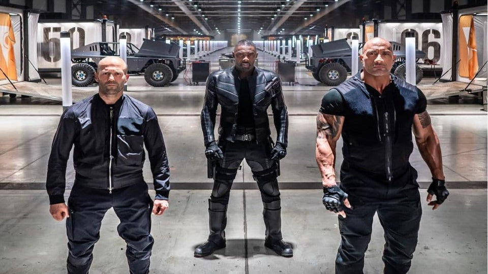 Watch Idris Elba And Dwayne Johnson Battle In The Exciting 'Hobbs & Shaw' Trailer