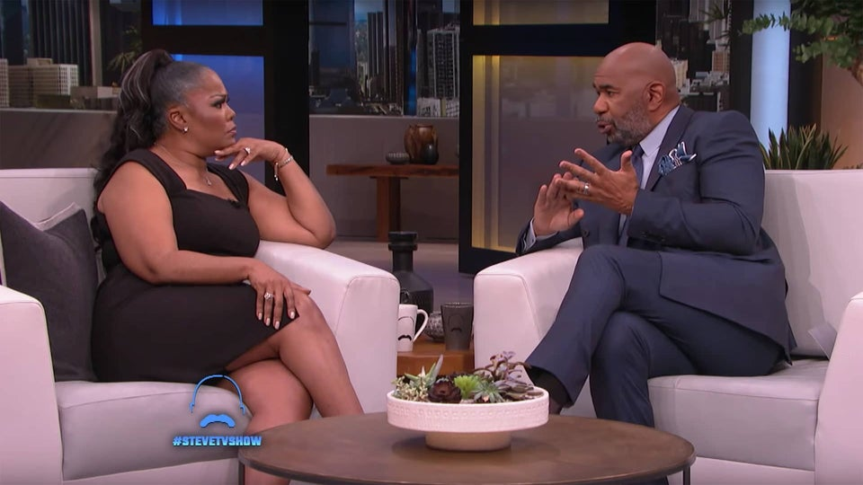 Mo'Nique And Steve Harvey Have Heated Discussion Over Black Hollywood