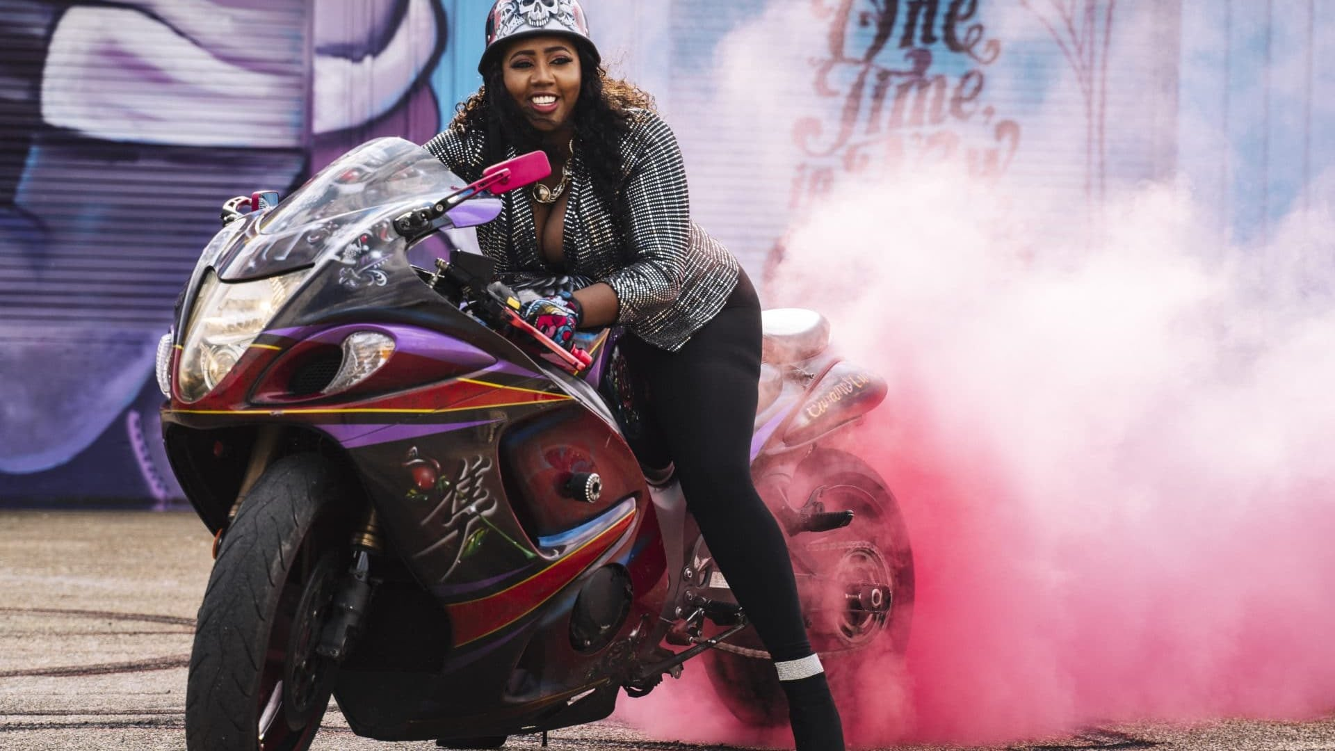 Meet The Caramel Curves: New Orleans's All-Female Biker Club Is Full Of Black Girl Magic