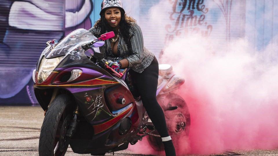 Meet The Caramel Curves: New Orleans' All-Black Female Biker Club