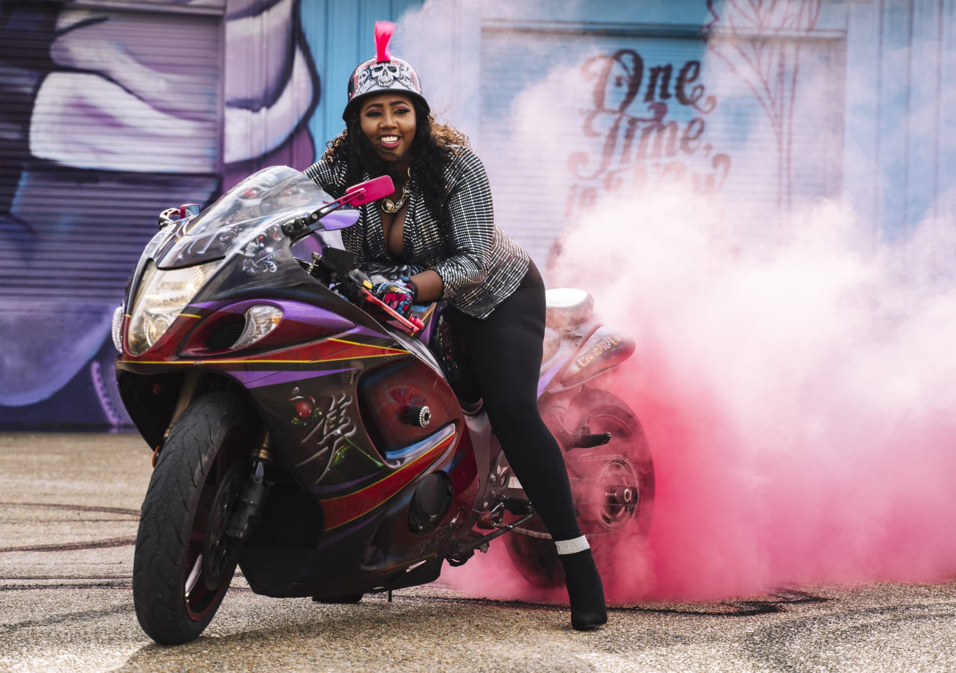 Meet The Caramel Curves: New Orleans' All-Female Biker Club Is Full Of Black Girl Magic