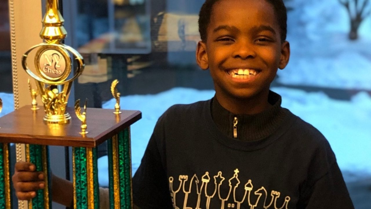 Homeless 8-Year-Old Nigerian Refugee Receives More Than $100,000 In Donations After Winning New York State Chess Championship