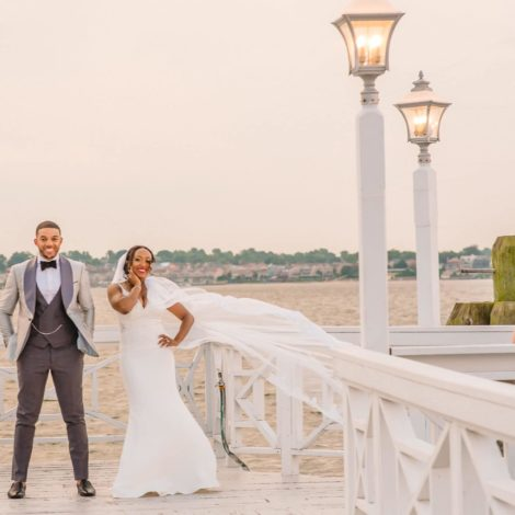 Bridal Bliss: Wave Your Flags For Julieann and Andrew's Caribbean Wedding Style