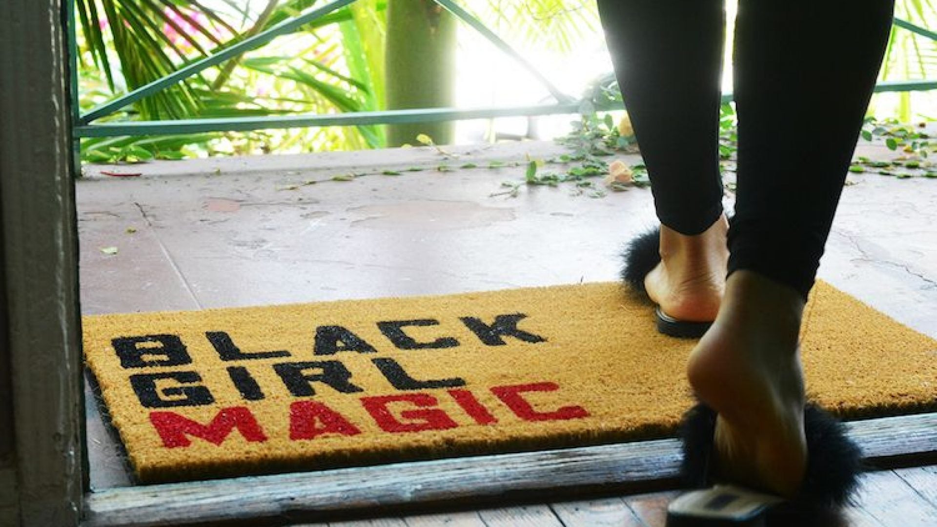 5 Cute Welcome Mats Every Black Woman Will Love