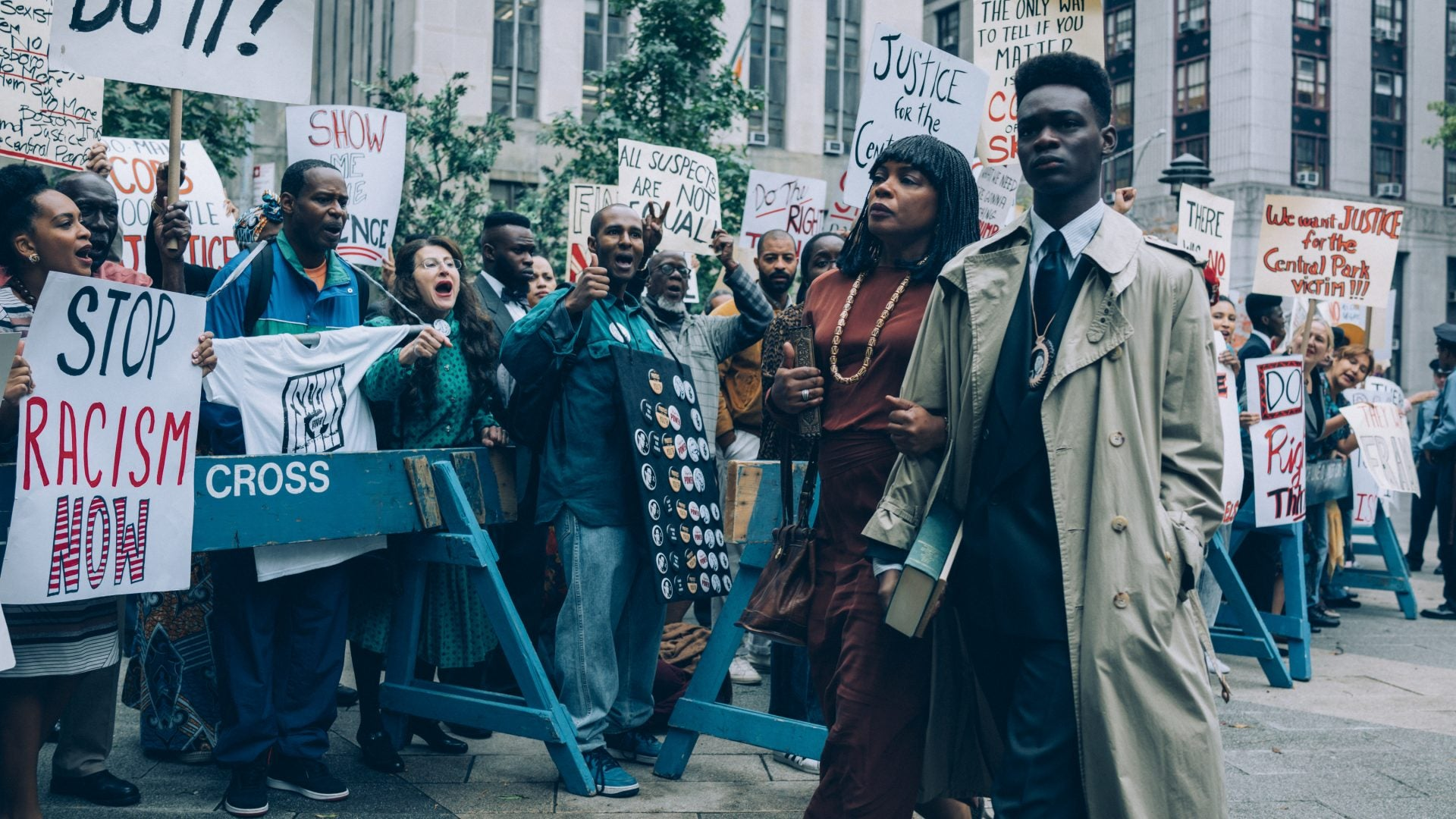 Here's Your First Look At Ava DuVernay's Series On The Central Park Five