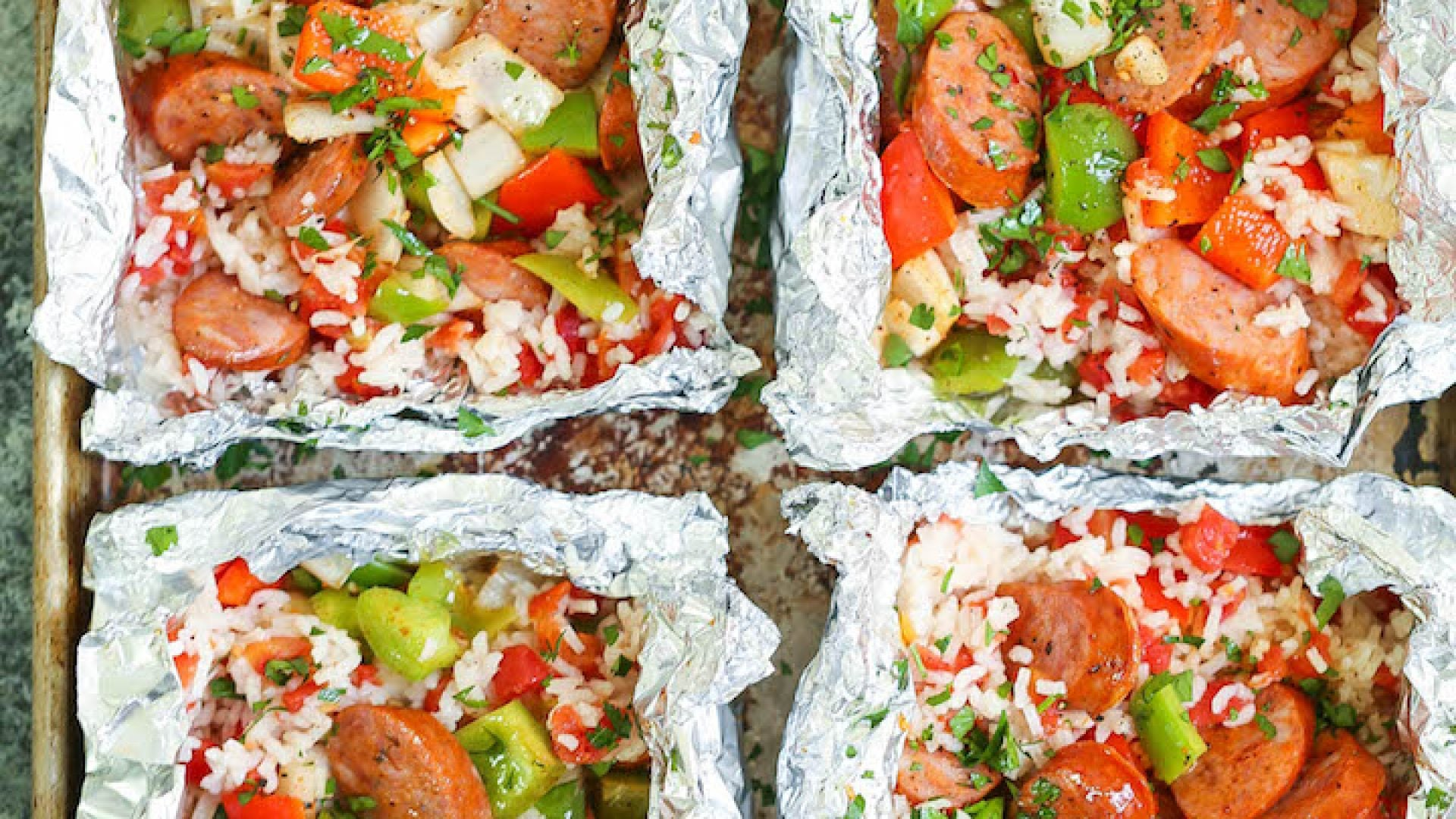 5 Easy Foil-Pack Dinners To Make When You Don't Really Feel Like Cooking