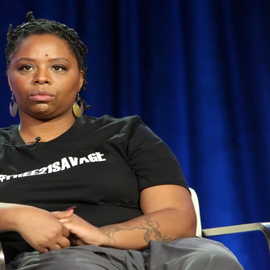 Black Lives Matter Cofounder Patrisse Cullors Speaks On African-Americans Supporting Immigration Rights