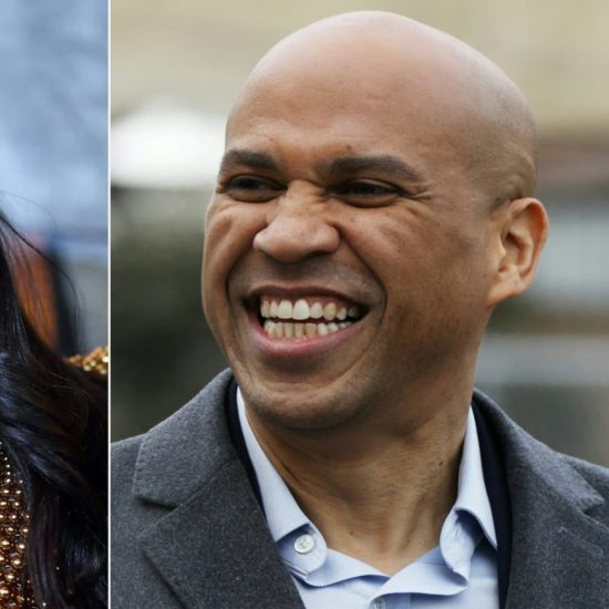 Love Is In The Air: Rosario Dawson Confirms She And Cory Booker Are Dating