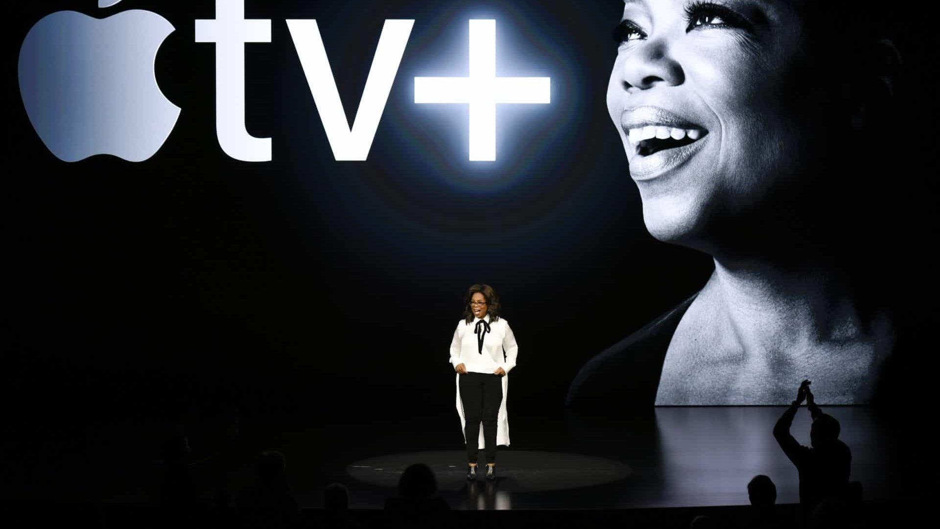 Oprah Winfrey Partners With Apple's New Streaming Platform