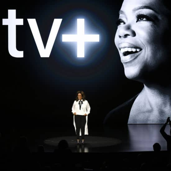 Oprah Winfrey Partners With Apple's New Streaming Platform