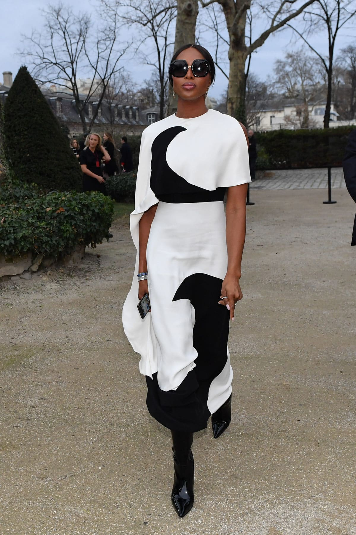 Naomi Campbell, Janelle Monae, Anthony Anderson And More Celebs Out And About