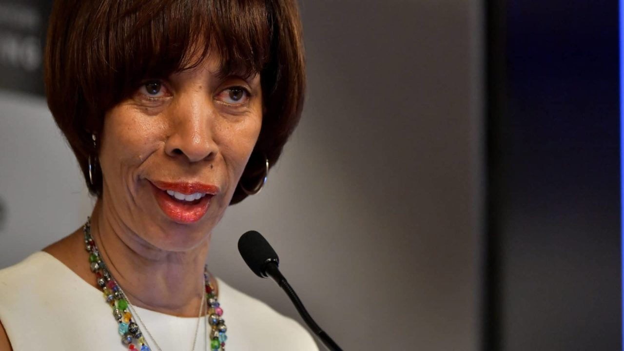 Baltimore Mayor Catherine Pugh Is Focused On The Job At Hand