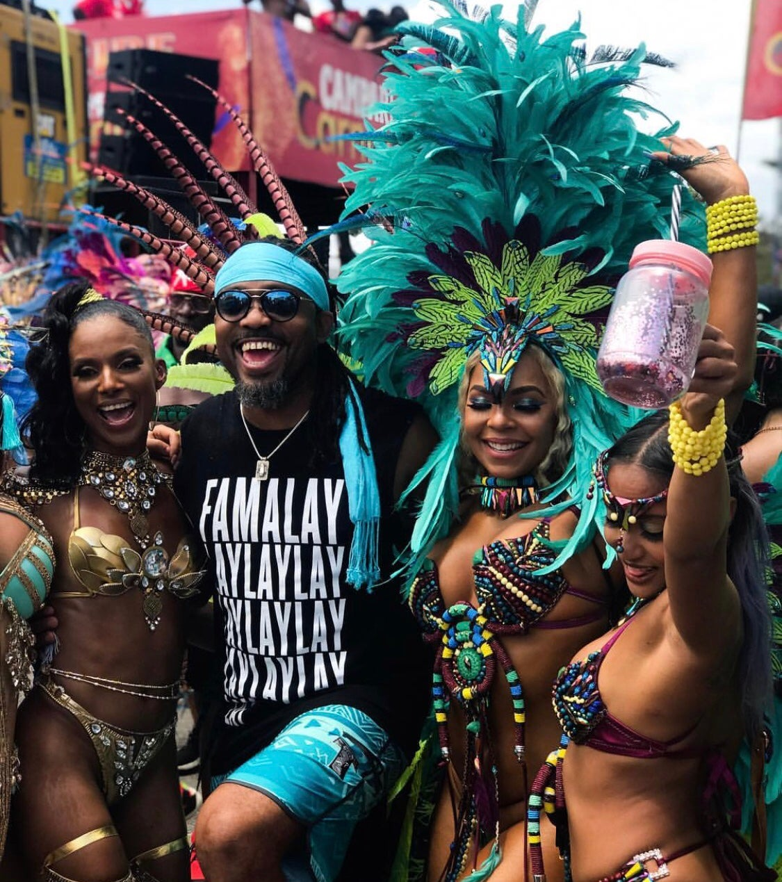 Jump and Wave! 45 Photos That Prove Trinidad Carnival Is A