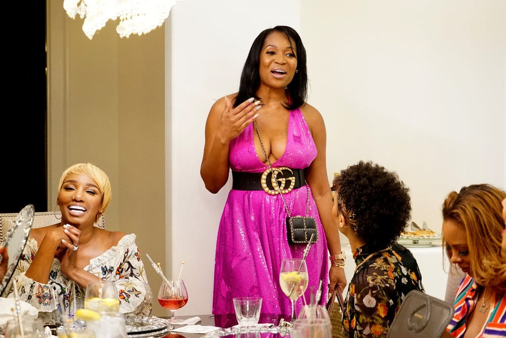 Marlo Hampton Doesn't Think She Was Wrong To Spill Eva Marcille's Rumors On 'RHOA': 'This Tea Came With Receipts'