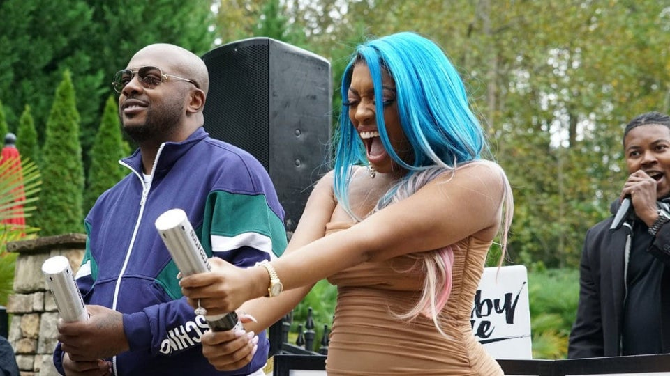 Check Out New Photos From Porsha Williams' Gender Reveal Special On 'RHOA'