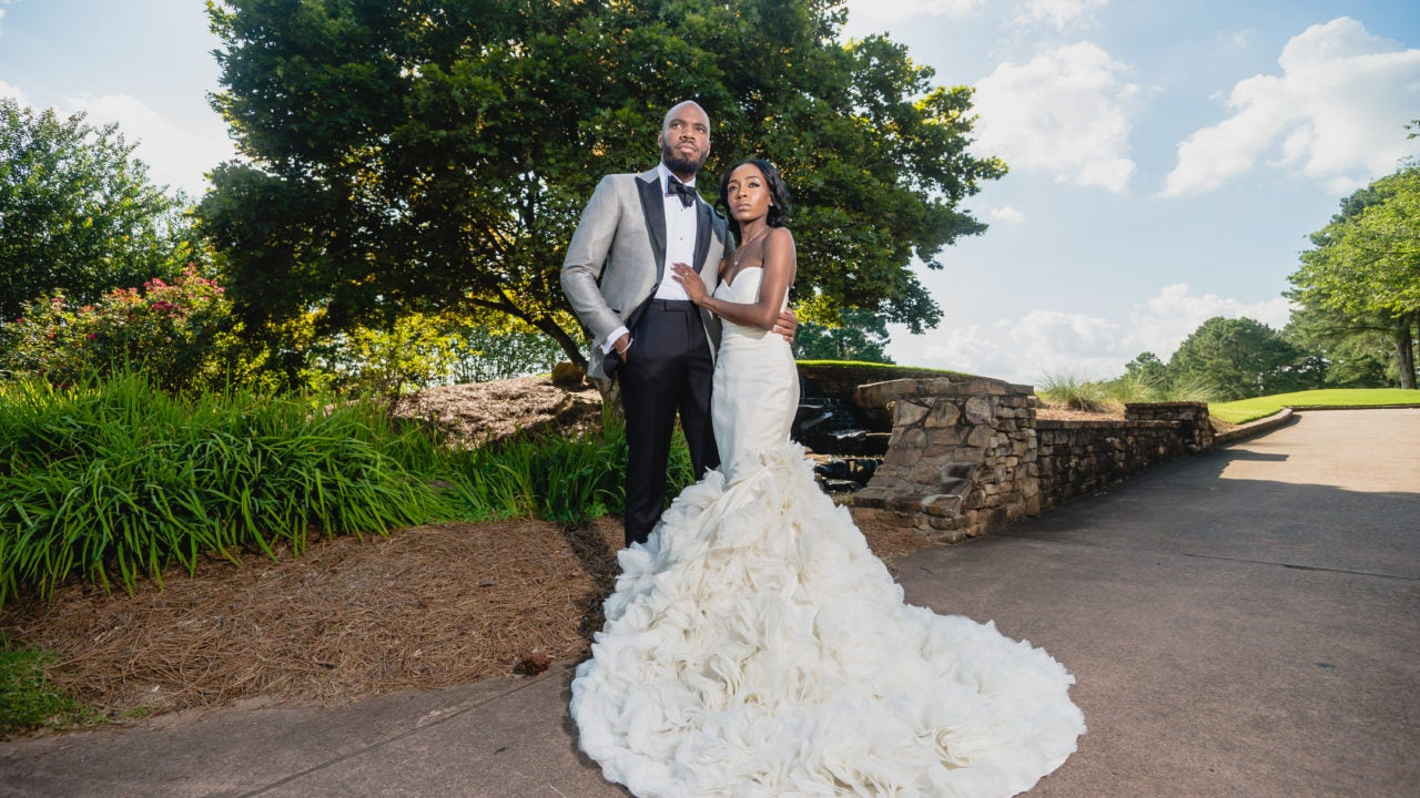 6995ba7d09ce Bridal Bliss  Raquel and Jahlell Had A Regal Wedding Fit For A King and  Queen