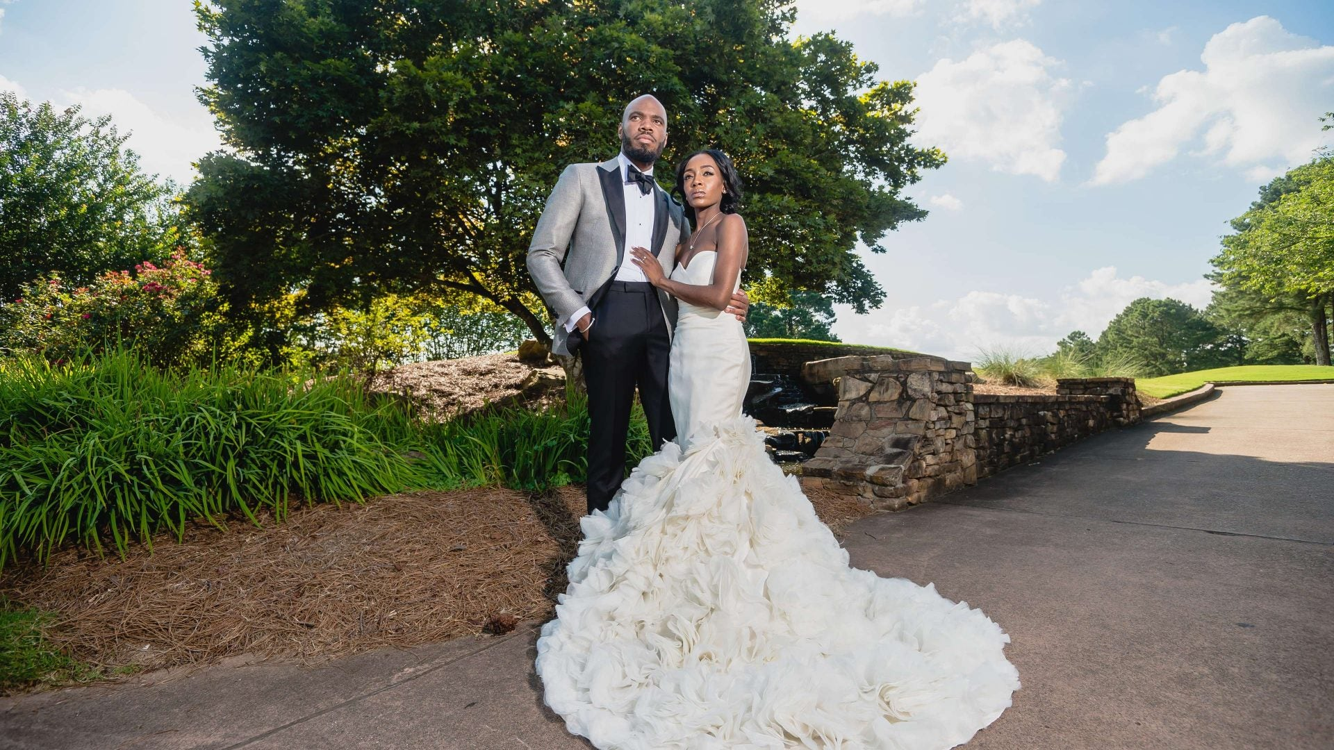 Bridal Bliss: Raquel and Jahlell Had A Regal Wedding Fit For A King and Queen