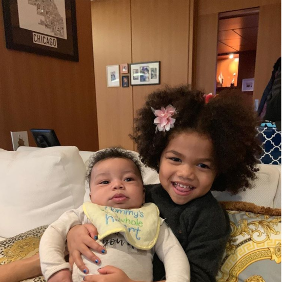 Chance The Rapper's Daughter Kensli And Nephew Charlie Are Cousin Goals