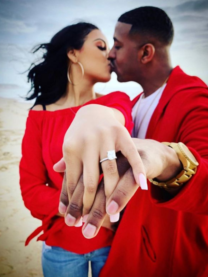Congrats! Singer Marques Houston Is Engaged To Girlfriend Miya