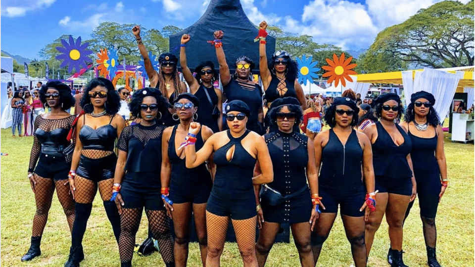 Black Travel Moment of the Day: These Black Women Got In Full Formation At Trinidad Carnival