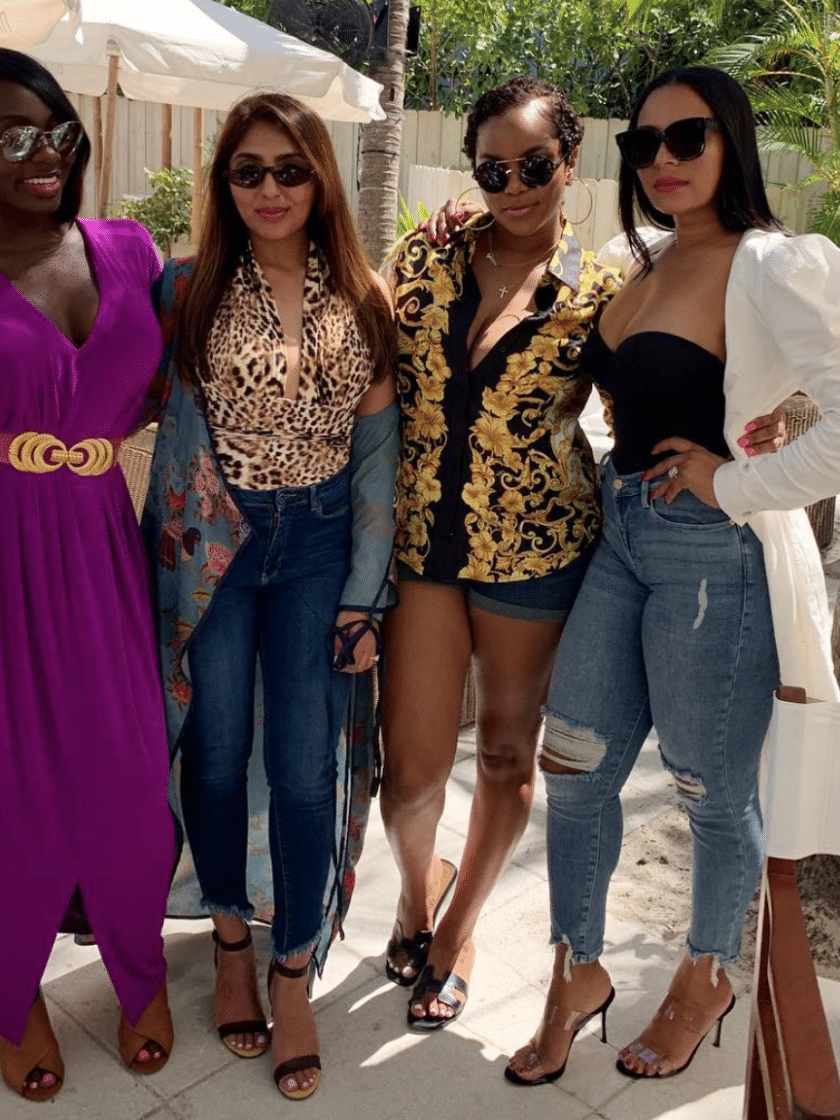 Need A Little Girls Trip Inspo? LeToya Luckett Did It Big For Her Birthday In Miami With Her Girls