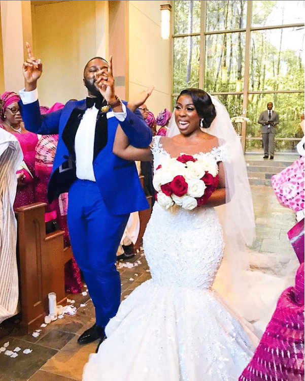 Black Bridal Moment Of The Day: This Groom's Heartfelt Vows Have Us Shedding Real Tears