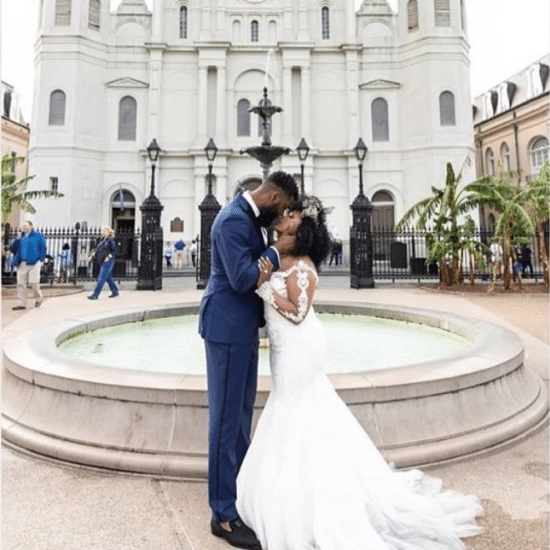 Black Wedding Moment Of The Day: Yes To This Bride and Groom's Wedding Second Line In New Orleans