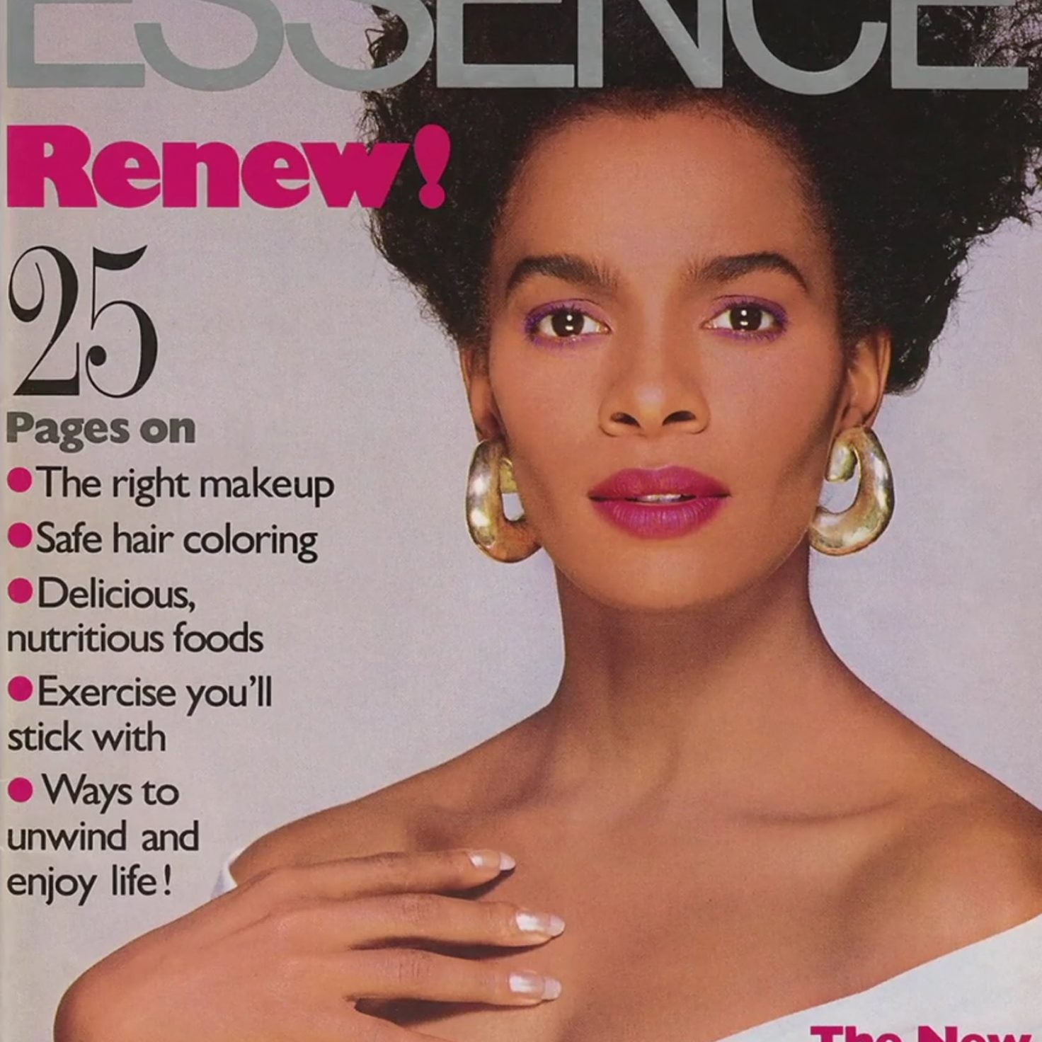 #TBT: These Breathtaking ESSENCE Magazine Covers Elevated Black Beauty Like No Other