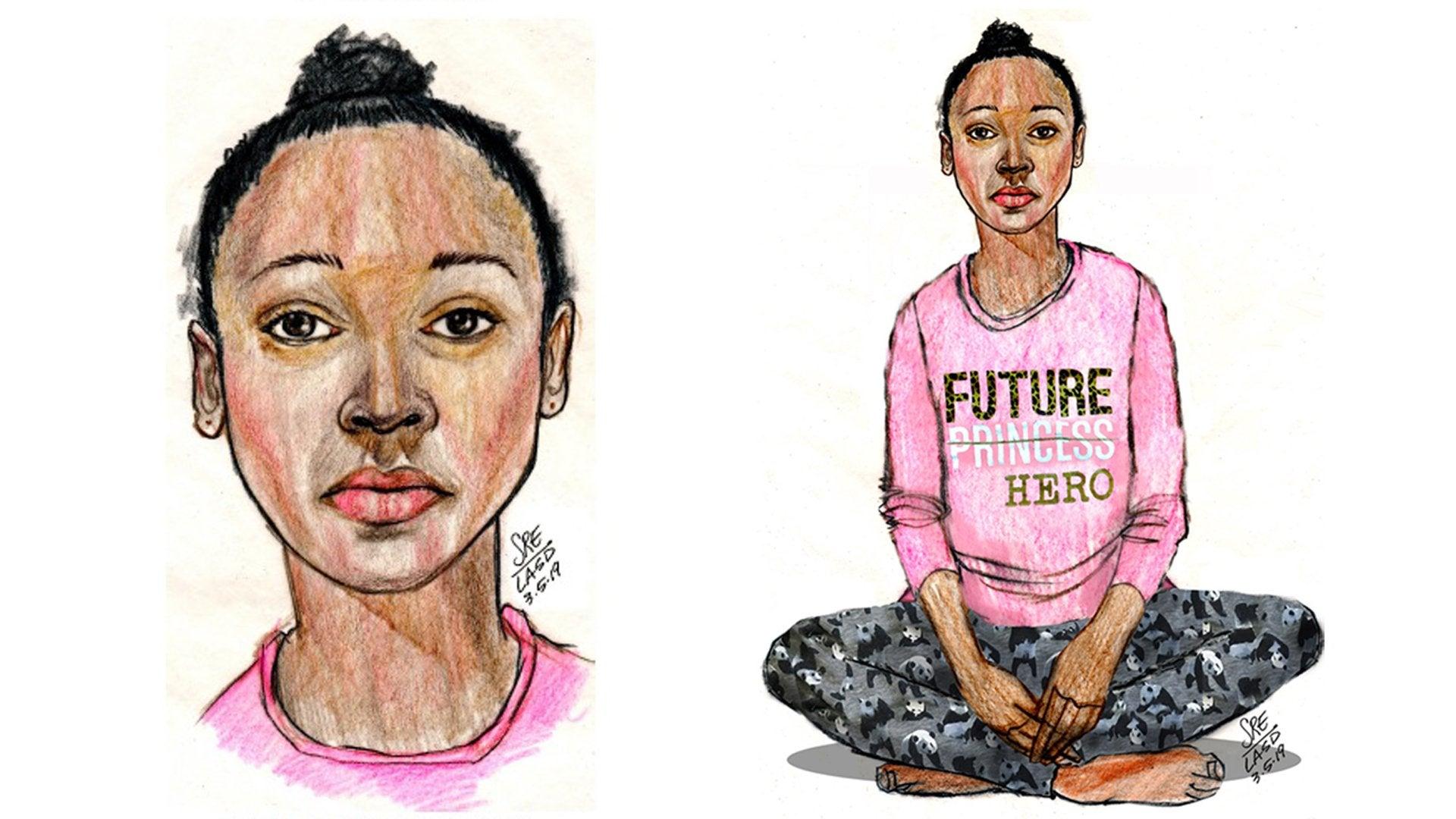 Body of Unidentified Black Girl found in a Bag in California