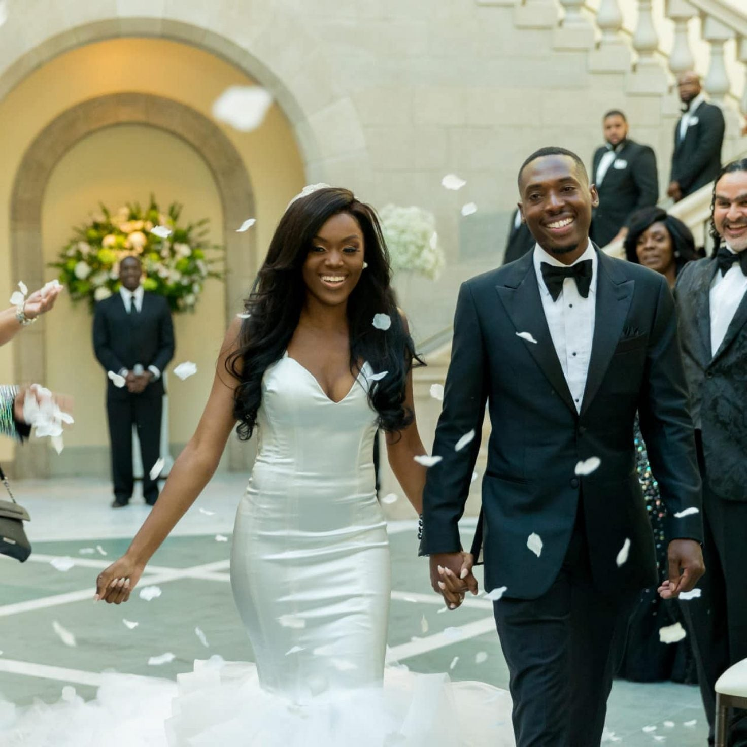 Bridal Bliss: Sydnisha and Johnathan's Black-Tie Wedding Was A Work Of Art