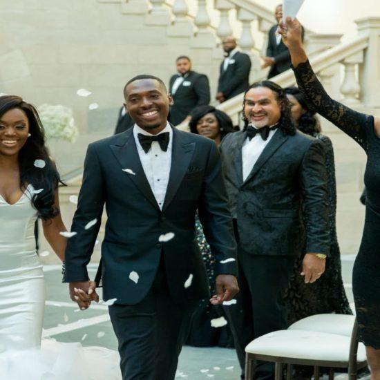 Bridal Bliss: Sydnisha and Johnathan's Black-Tie Wedding Was A Work Of Art