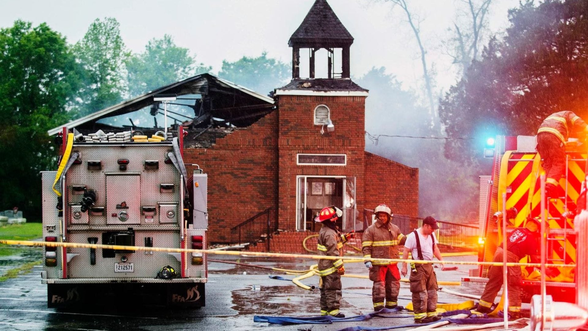 FBI Joins Investigation Of Suspicious Fires At Three Historically Black Churches In Louisiana