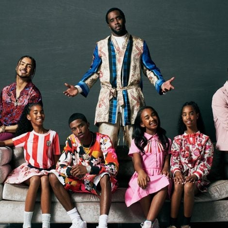 Diddy Is 'Family Over Everything' After The Death of Kim Porter